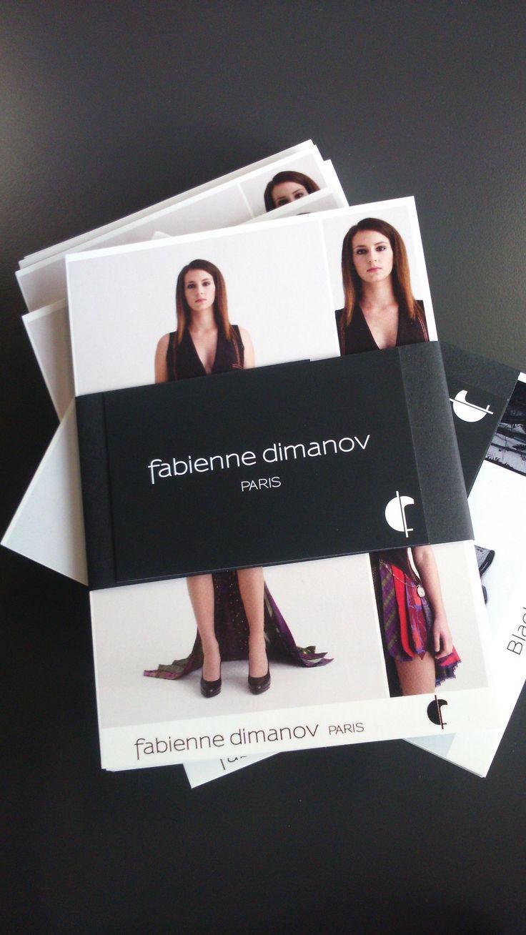 Brochure Fabienne Dimanov Paris #fabiennedimanov #modeéthique