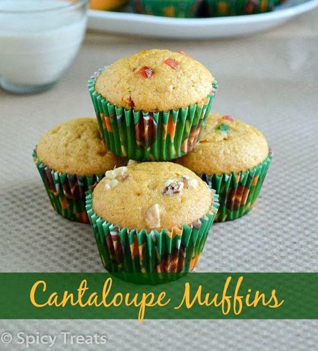Vegan Cantaloupe Muffins Recipe - RecipeChart.com