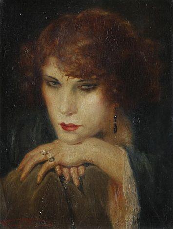 Femme fatale by Henri Joseph Thomas