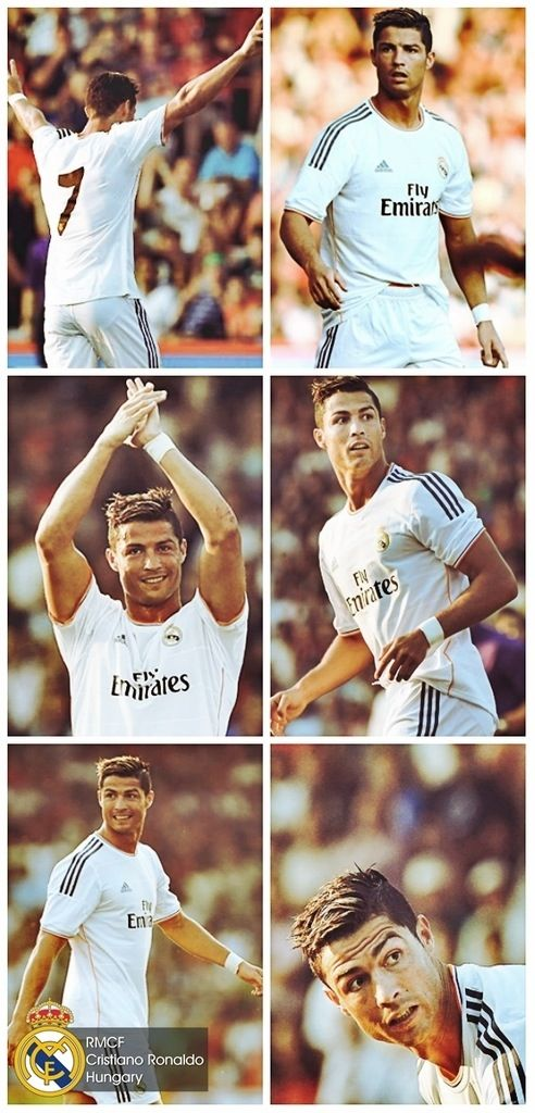 Cristiano Ronaldo: one attractive man and a crazy soccer player. He has some insane control! Love it