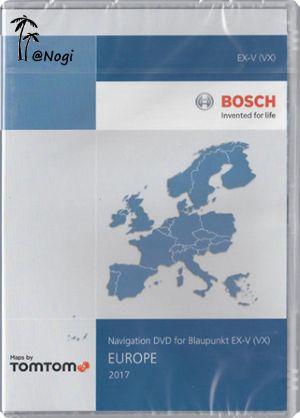 Volkswagen Navigation DVD for Blaupunkt EX-V (VX) V15 Europa 2017