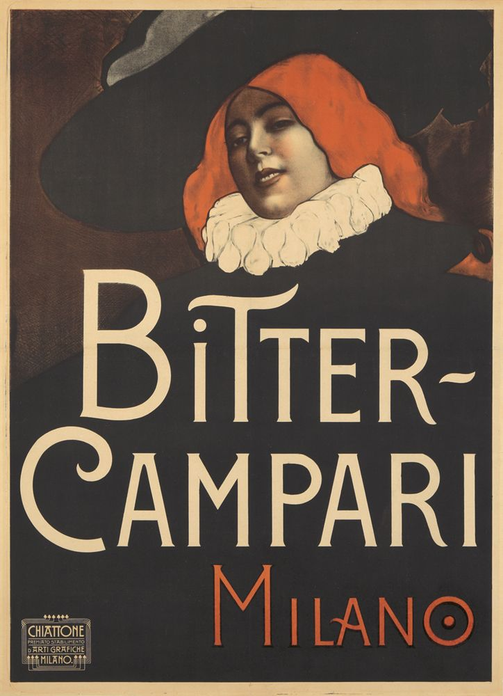 Bitter Campari - Achille Luciano Mauzan - 1920
