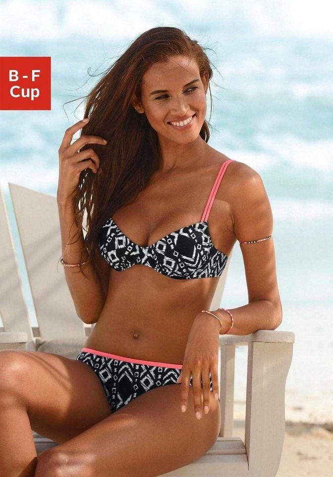 Buffalo Bügel Bikini Mit Neon Kontrastdetails Pinup Girls