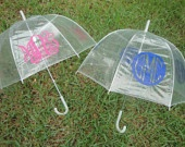monogrammed umbrella.  of course.  where was this on my wedding day??