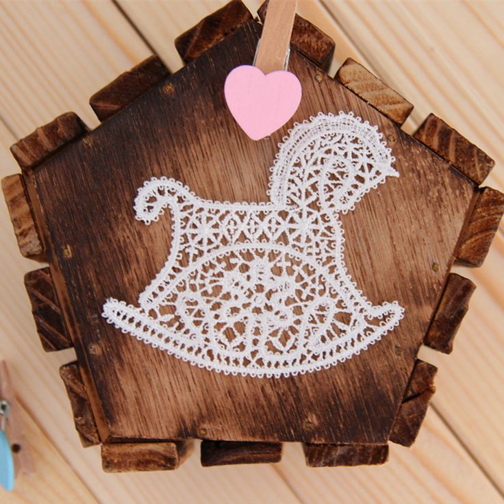 20 pcs/lot, Free Shipping LA227 Sew On Cute Kids Embroidery Hobby horse Lace Applique Patches $16.90