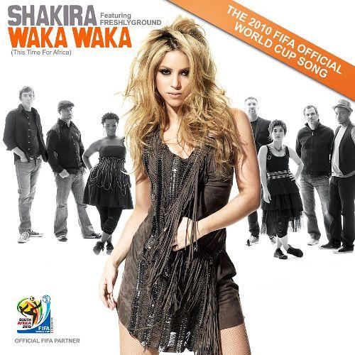 Pochette disque MP3 Shakira Waka waka musique coupe du monde de football