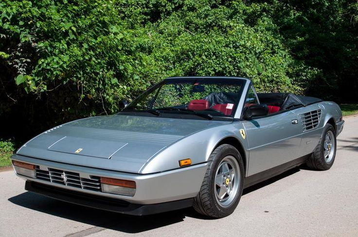 Cool Ferrari 2017: 1988 Ferrari Modial Mondial Cabriolet 1988 Ferrari Mondial Cabriolet 3.2, Desirable Silver w/ Red Interior