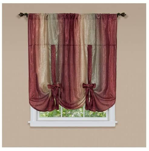 15 Impressive Burgundy Curtains For Living Room To Buy Part 91