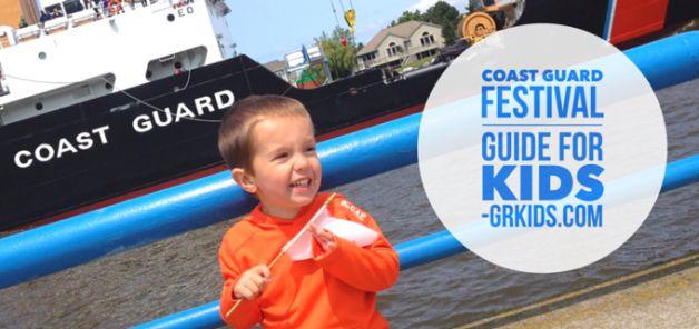 2015 grand haven MI coast guard festival guide for kids