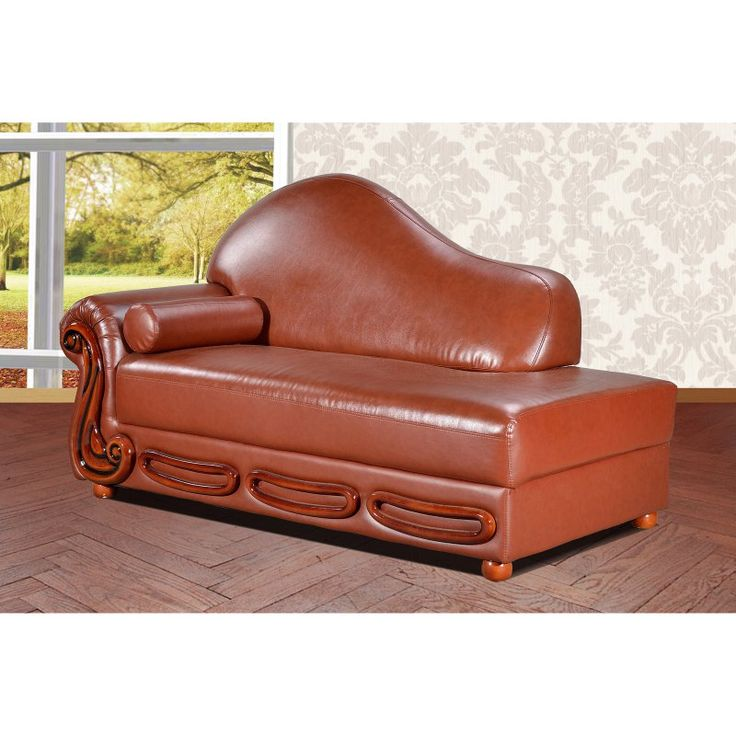 Meridian Furniture Inc Bella Indoor Chaise Lounge Brown - 632BR-CH