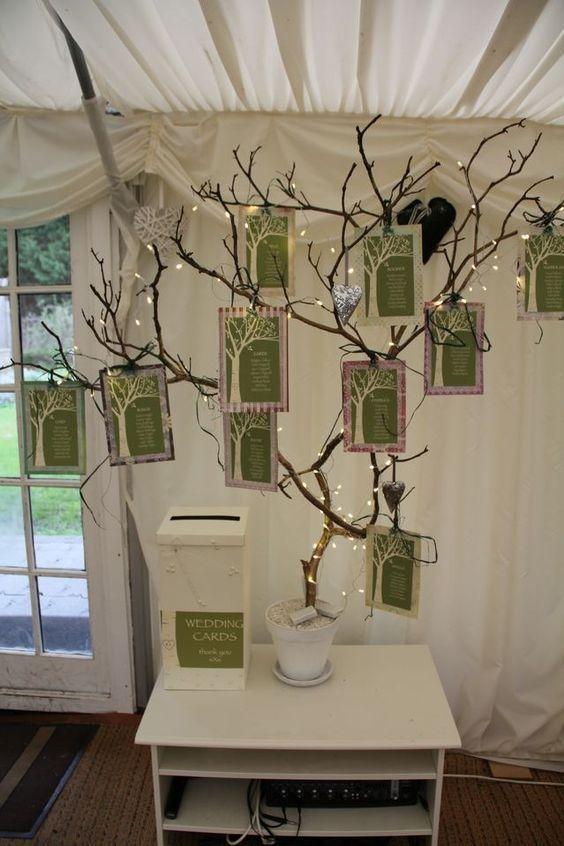 Matrimonio Tema Albero : Idee per un tableau mariage a tema albero della vita con