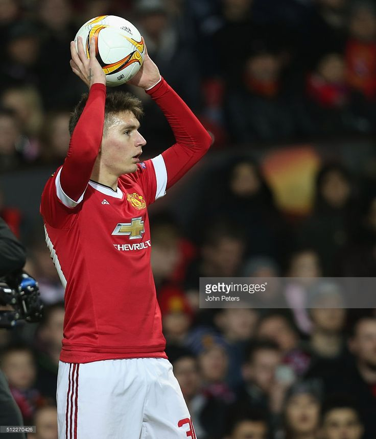 Guillermo Varela of Manchester United in action during the UEFA Europa League match between Manchester United and FC Midtjylland at Old Trafford on February 25, 2016 in Manchester, United Kingdom.