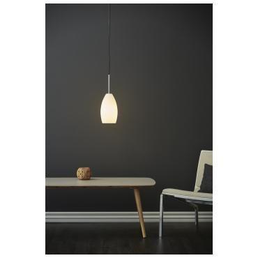 Granat pendel Herstal Hvit | Lampehuset
