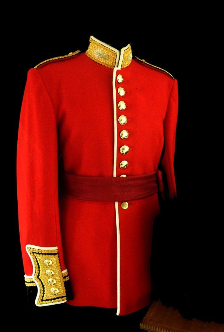 Grenadier guards officers present day ceremonial uniform