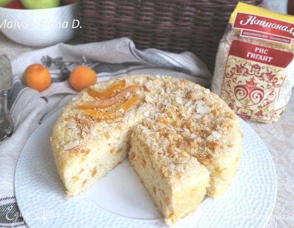 Итальянский рисовый пирог. Ингредиенты: рис, миндаль, яйца куриные | Официальный сайт кулинарных рецептов Юлии Высоцкой