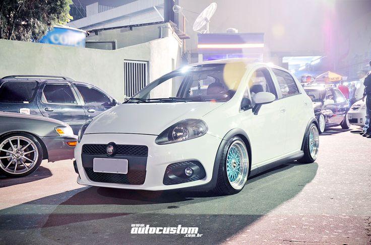 Fiat Punto - Evento: www.autocustom.com.br/2014/08/encontro-carros-ctn-272-club-sao-paulo