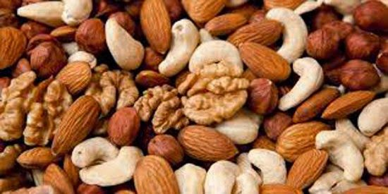 NUTS Eating a handful of nuts each day can really help in combating diabetes. Nuts not only increase your good cholesterol but also reduces the risk of you getting diabetes. Nuts like pistachios are a great source of protein and you can easily substitute chips and other junk food with pistachios and similar nuts.