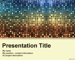 Fancy PowerPoint template -free template for academic or fancy presentations