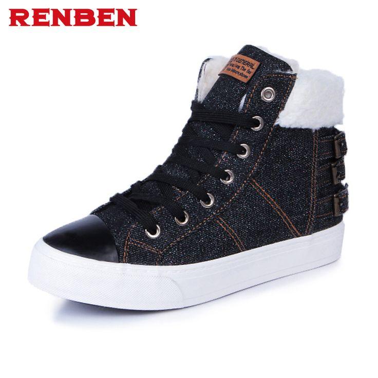 Зимняя женская бархатная Обувь для танцев зимние ботинки на платформе Для женщин Термальность с хлопковой подкладкой Обувь Ботильоны на плоской подошве купить на AliExpress