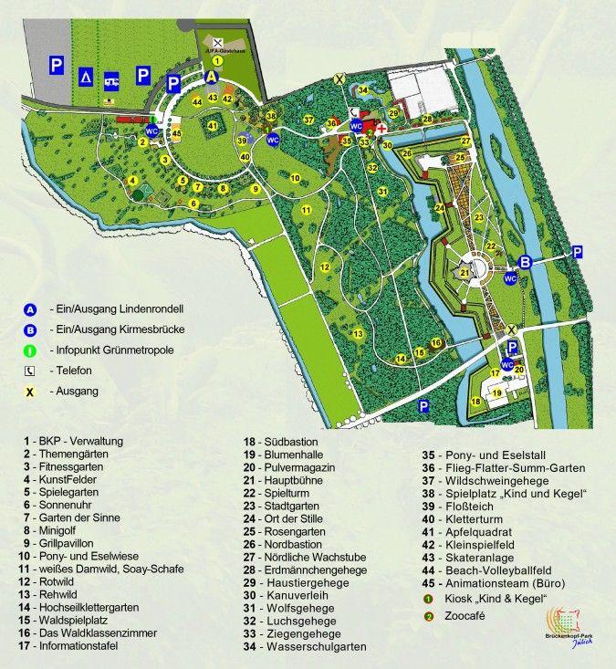 Brückenkopfpark Jülich - auf 30 Hektar Parkanlage mit Aktionsflächen 9 bis 18 Uhr in Wintermonaten 9.30 bis 16 Uhr 6 Euro, Kinder/Jugendliche 4 Euro Winter: 4,50 Kinder Jugendliche 2,50 Uhr