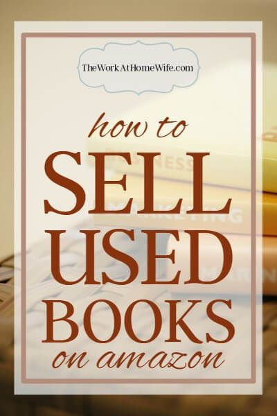 Two successful sellers share their tips on how to sell used books on Amazon - and elsewhere - for extra cash or as a full-time business.