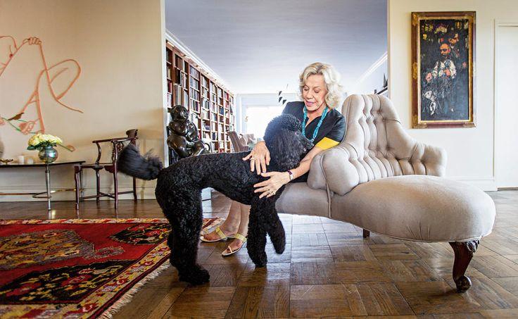 """Die New Yorker Bestsellerautorin und Feminismus-Ikone Erica Jong über Angela Merkels Leistungsfähigkeit, Donald Trumps Impertinenz, das Liebesleben der Pinguine und ihren neuen Roman """"Angst vorm Sterben""""."""