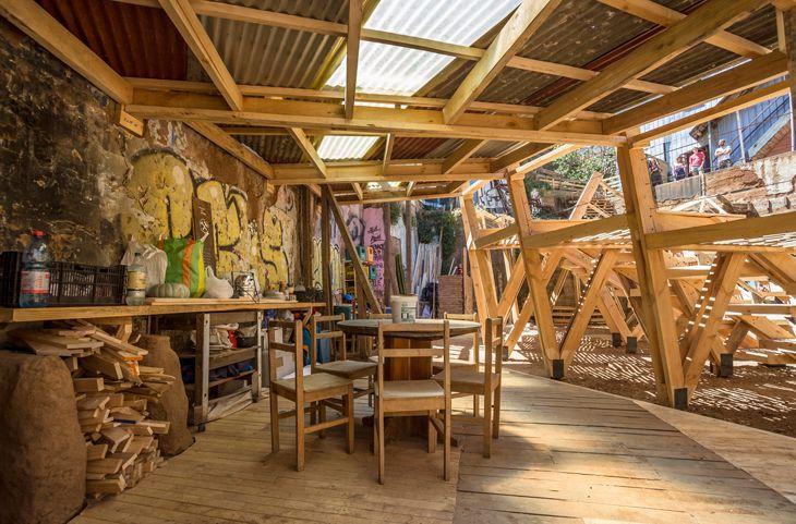 Kentin Terkedilmiş Alanı Sanatla Canlanıyor