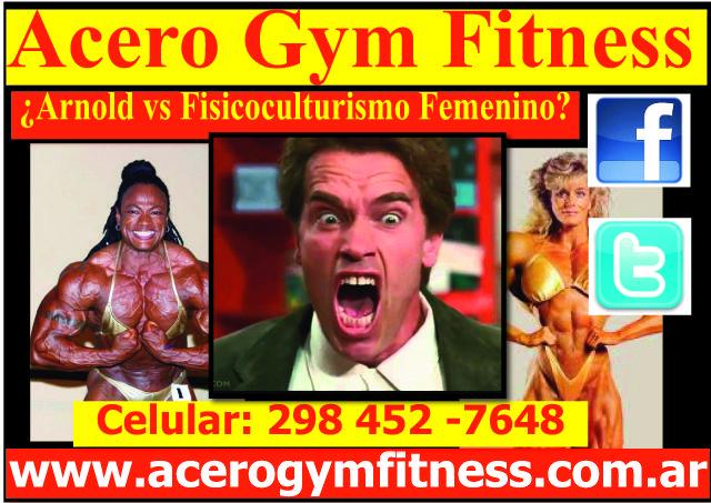 ¿Arnold quiere eliminar el Fisicoculturismo Femenino? - http://acerogymfitness.com.ar/articulos-de-acceso-libre/arnold-quiere-eliminar-el-fisicoculturismo-femenino/