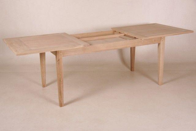 CORNY, Esstisch ausziehbar, 3 Farben und 4 Größen, Holztisch massiv, verstellbar 6