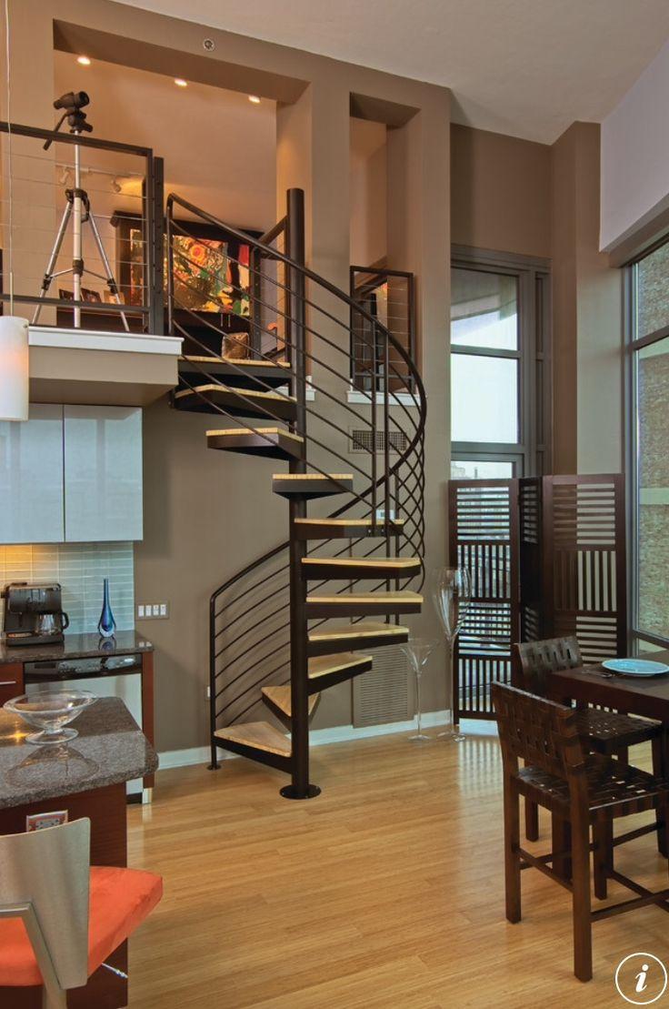 Best 60 Best Indoor Spiral Stairs Images On Pinterest Spiral 640 x 480