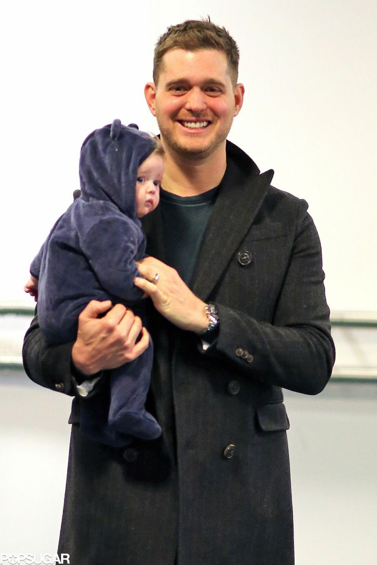 Noah & Michael Buble...seriously adorable!!!