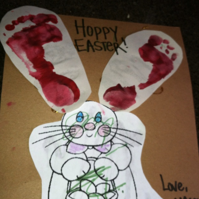 Easter kids craft, adorable!!!