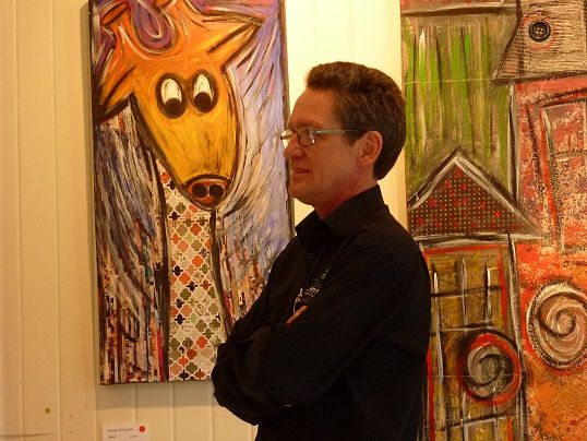 Chris Stannard - from the Tanks Art Centre Cairns