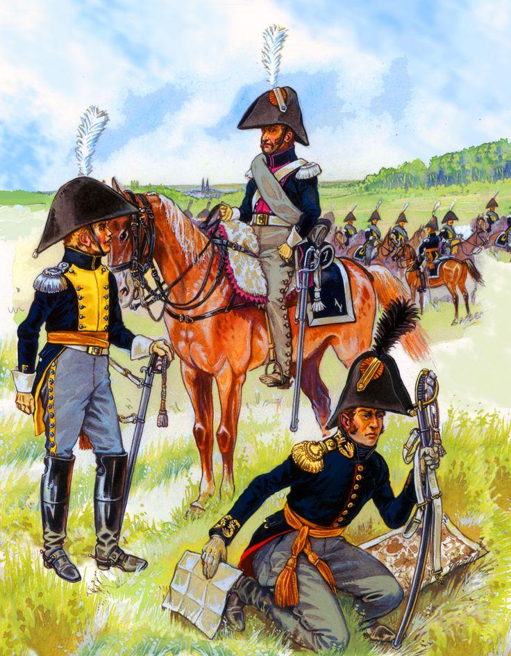 Dutch carabiniers at Waterloo