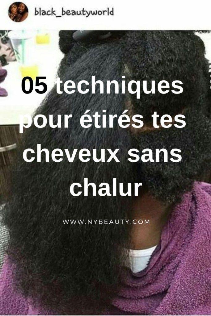 05 techniques pour étirer vos cheveux crépus sans chaleur – NYBeauty & Care