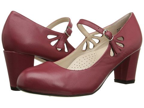Fitzwell Mystic Red Napa Leather - Zappos.com Free Shipping BOTH Ways