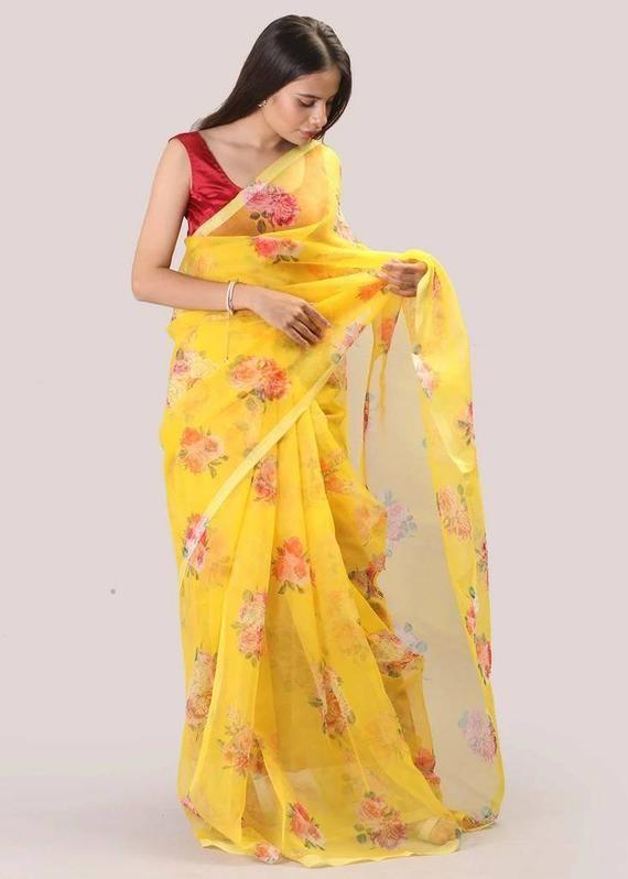 women/'s saree flowers saree Kota saree red saree soft silk saree digital printed saree saree blouse designers saree bridal saree