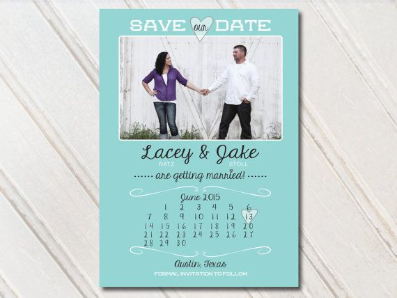 Wedding Save The Dates Photo Magnets Postcards by SAEdesignstudio