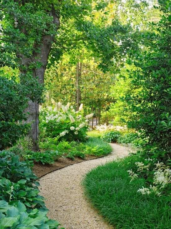 Bummeln im Garten-Alleen gestalten-Kiesweg anlegen