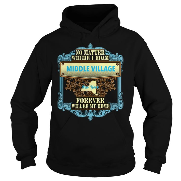 Middle Village in New York T-Shirts, Hoodies. BUY IT NOW ==► https://www.sunfrog.com/States/Middle-Village-in-New-York-Black-Hoodie.html?id=41382