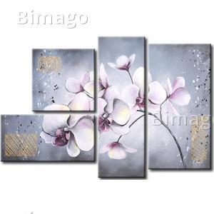 Cuadros modernos: impresión sobre lienzo y pintura acrílica - bimago.es
