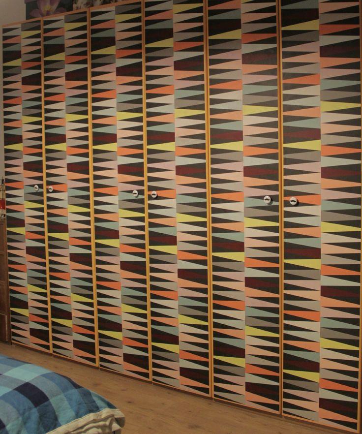 armadio rinnovato grazie BRÅKIG collection 2014. #brakig #ikea