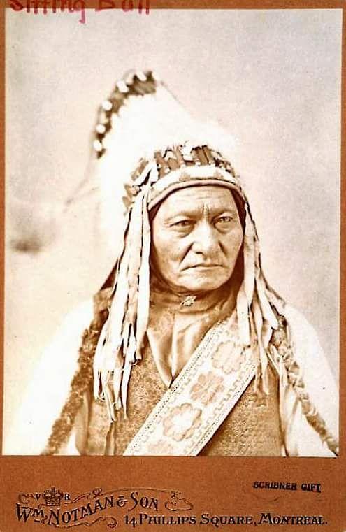 Сидящий Бык. 1885