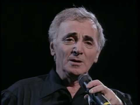 Chanteur célebre francais Charles Aznavour