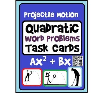 how to solve projectile motion problems algebra