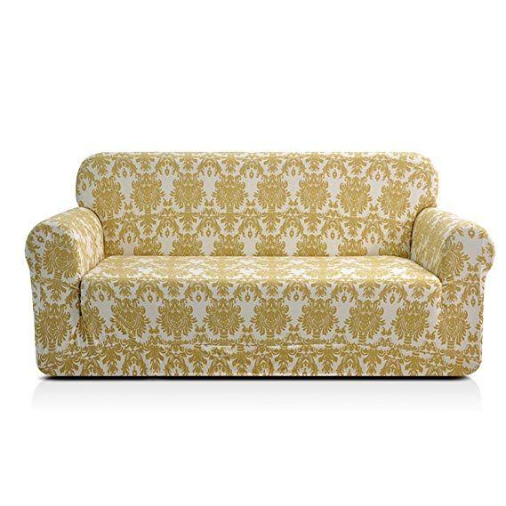 Amazon Com Chun Yi Printed Sofa Covers 1 Piece Spandex Fabric