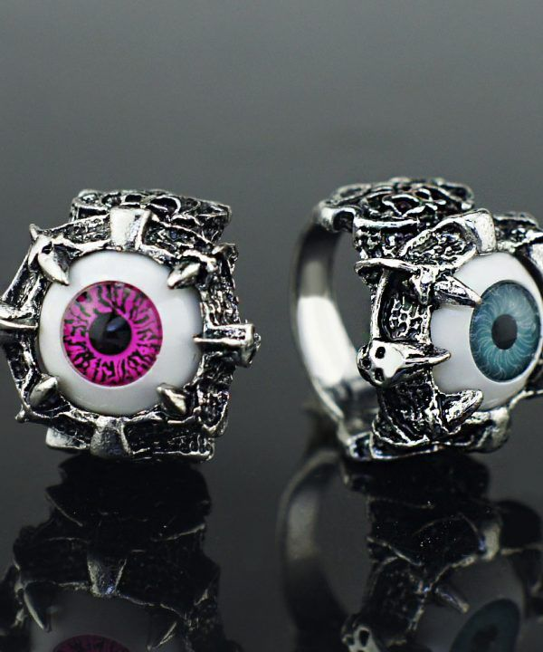 Eyes Claw Gothic Ring
