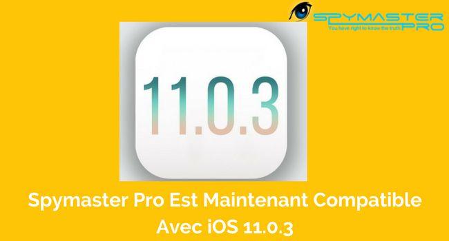 Spymaster Pro est compatible avec iOS 11.0.3   #Fonction #Logiciel #Spyware #Programme #Bavarder #Moniteur #France #iphone #Apple #IOS