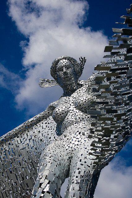 Rise - Glasgow Harbour, Scotland  Andy Scott