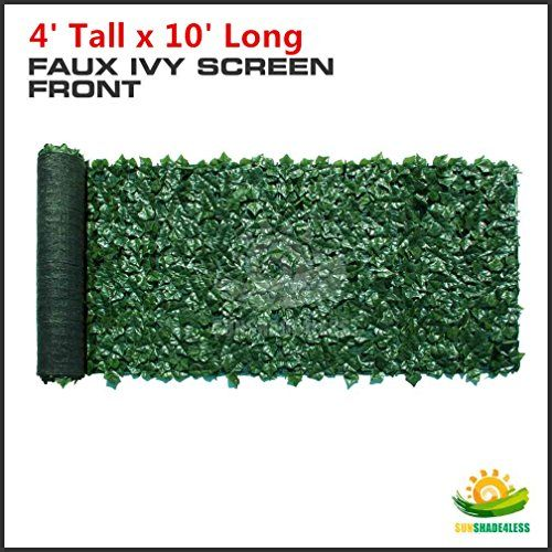 """Best Choice Products® Faux Ivy Privacy Fence Screen 94"""" X 59"""" Artificial Hedge Fencing Outdoor Decor"""